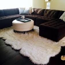 Xl Area Rugs Faux Sheepskin Area Rug Dormify Regarding Fur Rugs Modern 1