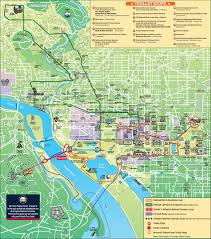 Tourist Map Of San Francisco by Washington D C Maps U S Maps Of Washington District Of