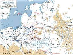Breslau Germany Map by Of The Russian Campaign 1812 July 1