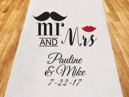 personalized aisle runner personalized aisle runners lafavoritafavors