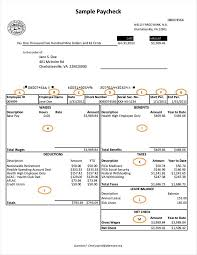 free pay stub templates smartsheet paycheck template ic organiz