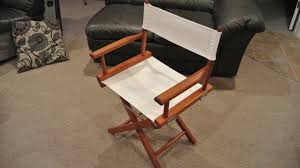 Leather Director Chair Covers Director U0027s Chair Restoration Youtube