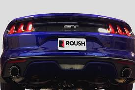 mustang exhaust 2015 2017 mustang 5 0l roush v8 exhaust kit tip 304ss