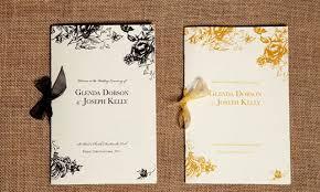 wedding booklets ceremony booklets wedding stationery from appleberry press