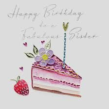 fabulous slice of birthday cake birthday card karenza paperie