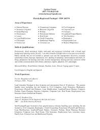 Paralegal Resume Example Paralegal Resume Entry Level Paralegal Resume Sample