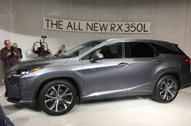 lexus jeep 2018 lexus calls the three row 2018 rx l u201cone u0027l u0027 of a vehicle u201d in l a