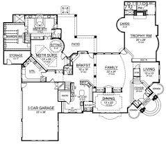 Corner House Floor Plans Mediterranean House Plan With 5 Bedrooms And 5 5 Baths Plan 4520