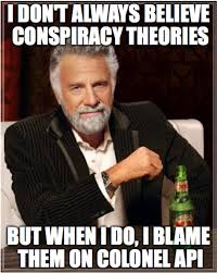 Conspiracy Meme - create a subject specific meme poster for classroom display tarr s