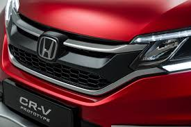 Honda Crv Diesel Usa Honda U0027s 2015 Cr V Facelift For Europe Gets New 160ps 1 6l Diesel