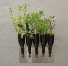 Wall Mounted Planters by Wall Mounted Herb Garden Wall Planters Planters And Wall Mounted