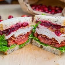 thanksgiving leftover turkey cranberry sandwich thanksgiving meals