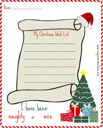 the christmas wish list free printable christmas wish list coupon connections