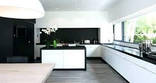modele carrelage cuisine cuisine noir et blanc cheap carrelage cuisine noir et blanc coration