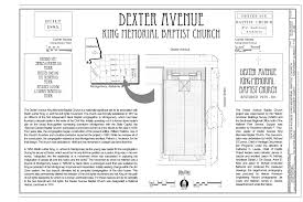 file cover sheet and site plan dexter avenue king memorial