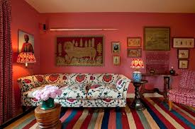 eclectic pink living room pink rooms u0026 pink paint ideas