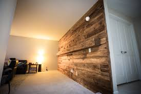 Wooden Wall Coverings by Porter Barn Wood Reclaimed Mushroom Wood Wall With Mantle