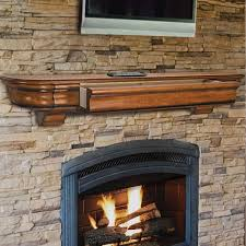 pearl mantels mantels abingdon 48 inch fireplace mantel shelf 415 48 50
