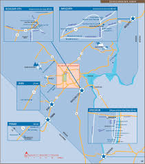 Greater Orlando Area Map by Las Vegas Maps U S Maps Of Las Vegas Strip