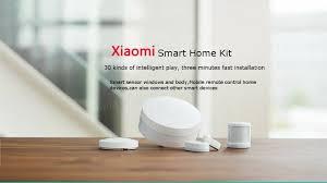 original xiaomi intelligent sensor control smart home suit kit at