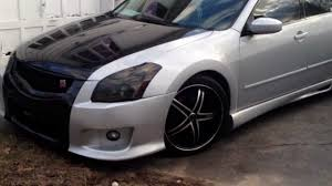 maxima nissan 2008 07 maxima new gtr coustom body kit duraflex youtube