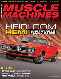 Hemmings Classic Car - hemmings muscle machines august 2015 by augusto dantas issuu