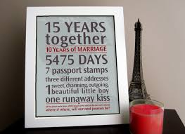 15th wedding anniversary gifts 2 15 year wedding anniversary gift for husband items similar to