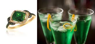 holiday cocktails how to match holiday cocktails and gorgeous jewels radar online