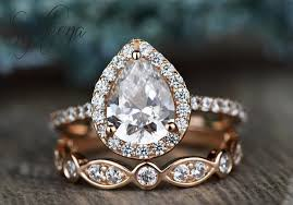 diamond rock rings images Moissanite engagement rings so stunning they 39 ll rock your world jpeg