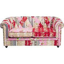 canap patchwork photos canapé chesterfield tissu patchwork