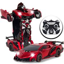 lamborghini transformer best choice products kids toy transformer rc robot car remote control