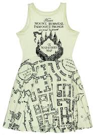 Perl Map Harry Potter Juniors Marauder U0027s Map Dress At Amazon Women U0027s