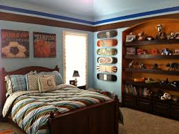 Captivating  Kids Sports Bedrooms Decorating Inspiration Of - Boys bedroom decorating ideas sports