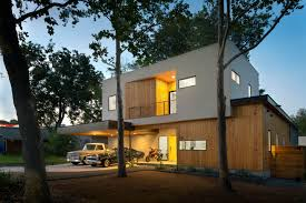 7 modern homes in the forest dwell a mighty oak tree frames this