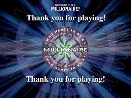 who wants to be a millionaire transpiration