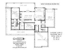 farm house blueprints mark harbor b house plans by garrell associates inc
