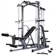 Multi Gym Bench Press Marcy Mwb1282 Platinum Smith Machine Home Gym With Weight Bench