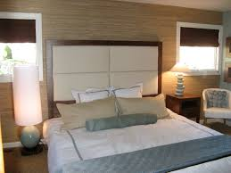 Bedroom Ideas With Brown Carpet Uncategorized White Square Polyester Headboard Wooden Frame Bed