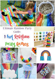 Rainbow Party Decorations 25 Unique Rainbow Party Games Ideas On Pinterest Rainbow Games