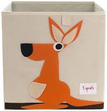 aufbewahrungsbox kinderzimmer hund spielzeugbox 33 x 33 x 33 cm 3 sprouts gibt es hier