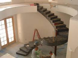 Curved Stairs Design Spiral Staircase Manufacturersmetal Treads Hardwood Stairs