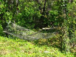 backyard fun for roll the hammock backyard hammocks ideas