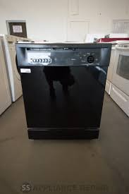 General Electric Dishwasher General Electric 24 In Built In Dishwasher Black Ss Appliance