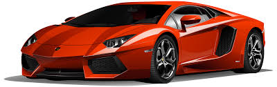 car lamborghini red clipart car red