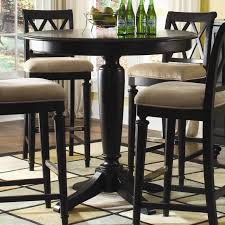 36 round bar height table table exciting 42 inch tall 36 round top black pedestal pub