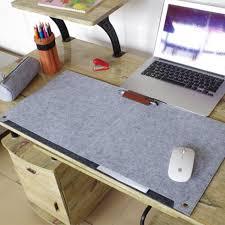 fashion duurzaam computer bureau mat moderne tafel vilt bureau mat