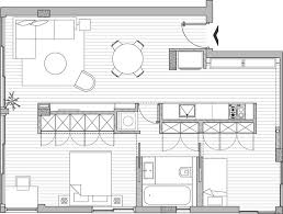 apartment modern garage apartment plans