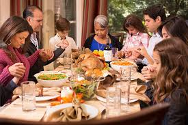 thanksgiving family praying descent pictures images and