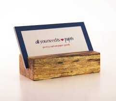 Creative Business Card Holders For Desk Awesome Gallery Of Wood Business Card Holder Business Cards