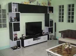 inspirational living room wall units with black storage set and